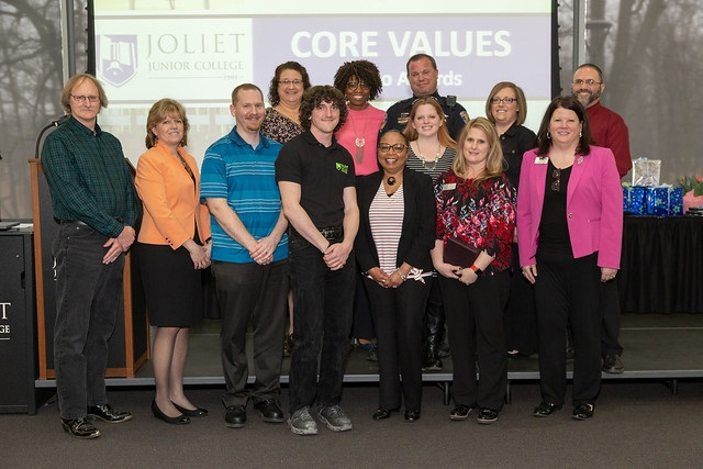 2019 Jo Award winners and Core Values Committee