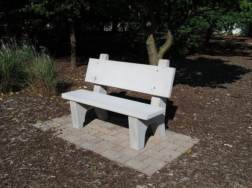 PTK suicide awareness bench