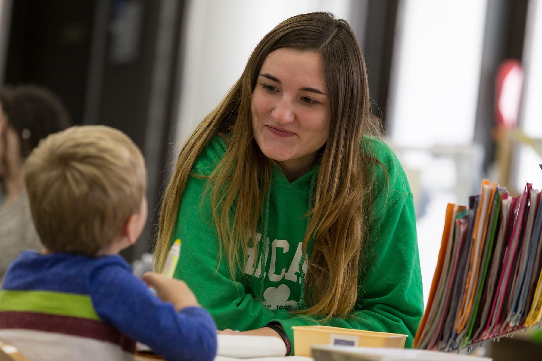 ECC - student with child