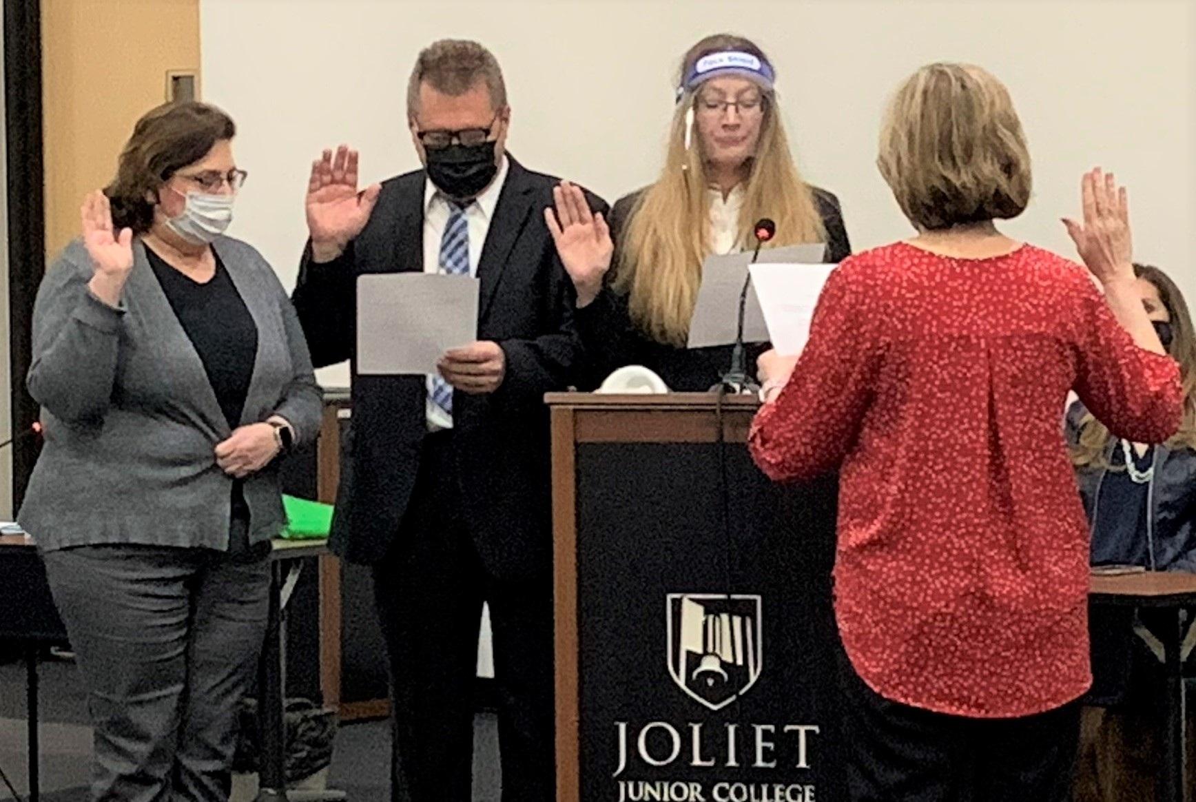 Trustees oath of office