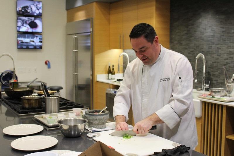 Chef Adam Roy at JJC
