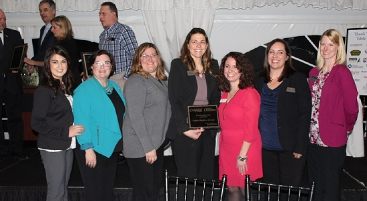 Grundy County Services presented Organization of the Year on March 21.