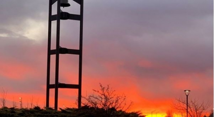 Bell Tower at sunrise