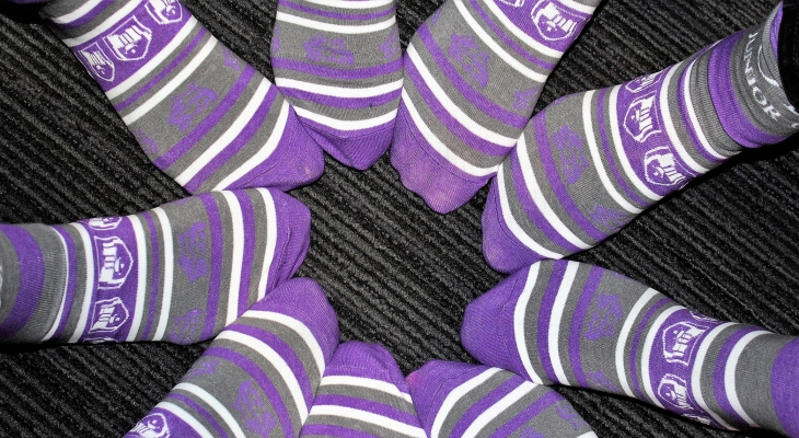 Purple JJC Socks