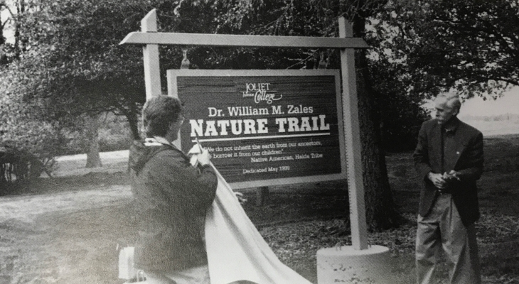 nature trail unveiling