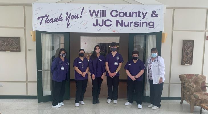 JJC nursing students