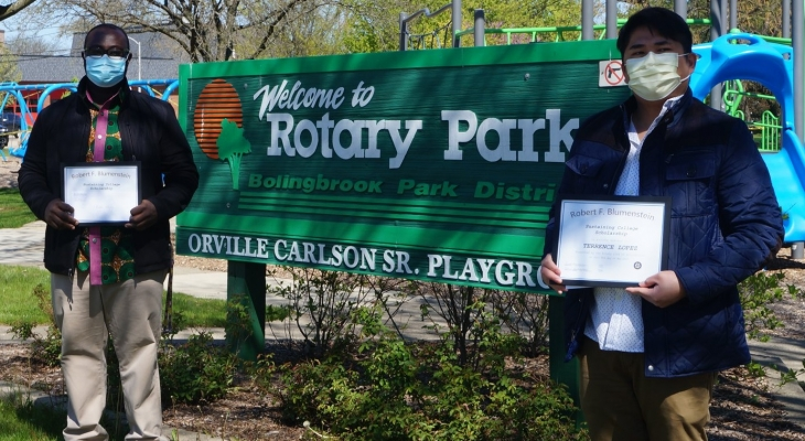 Bolingbrook rotary scholarship winners