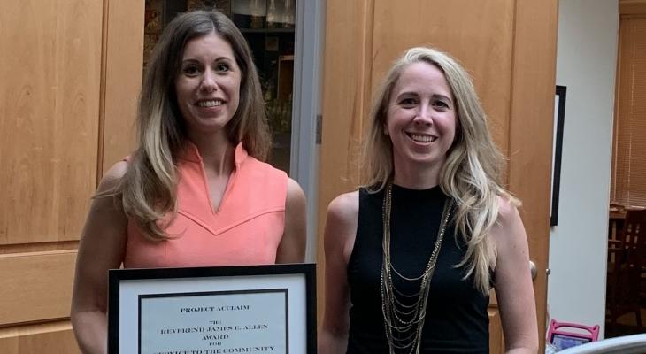 Kelly RT Project Acclaim Award