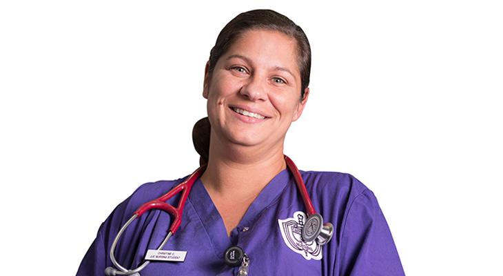 Photo of JJC Nursing student